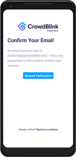 Protect App Update - Confirm Your Email